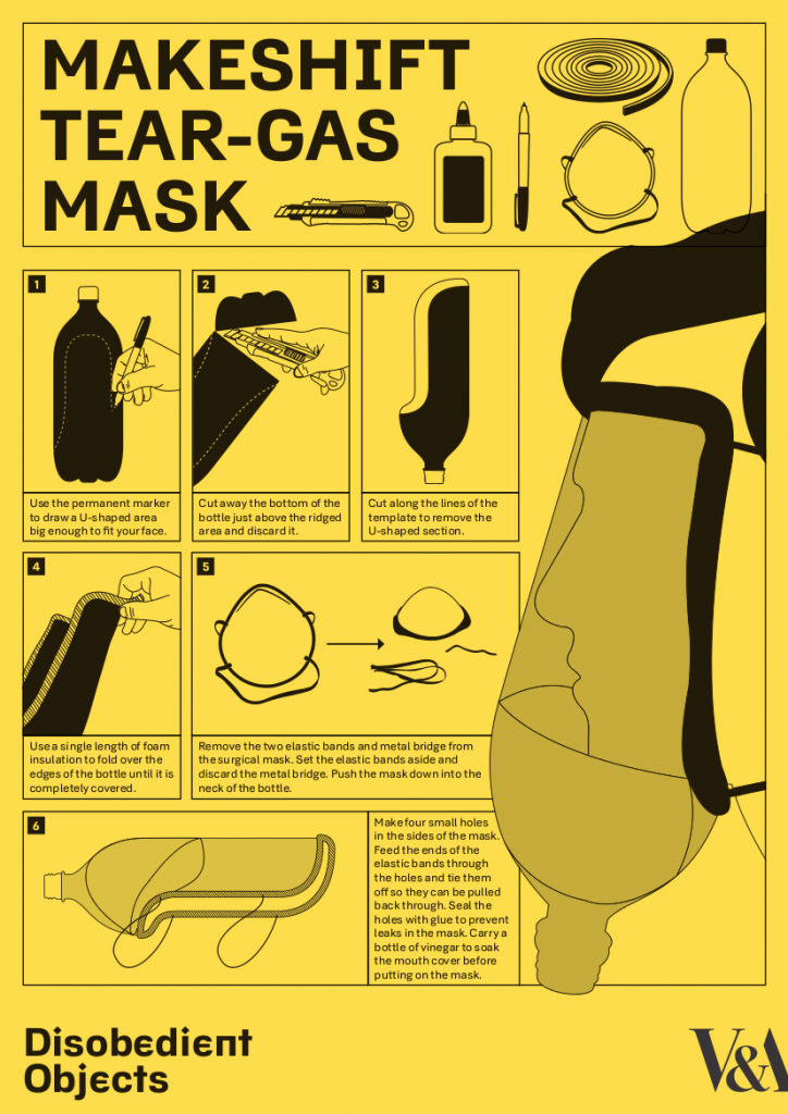 How To Tear Gas Mask