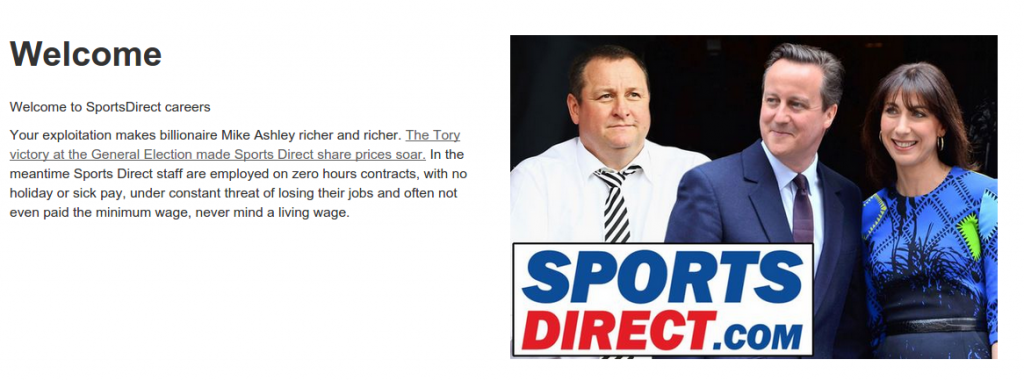 Sports Direct remix